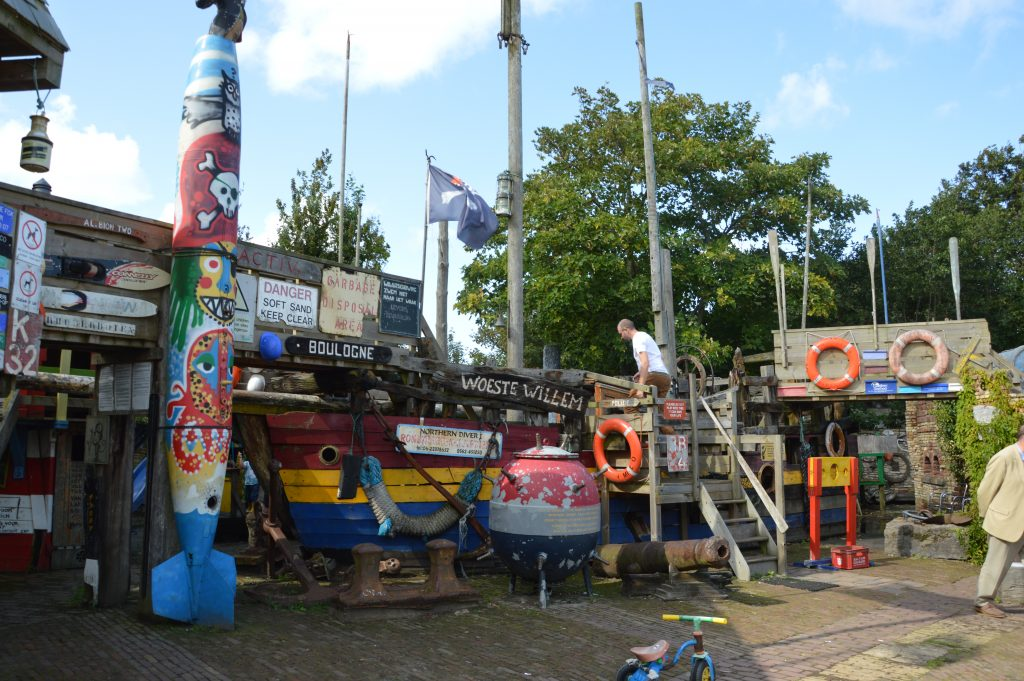 piratenschip wrakkenmuseum terschelling