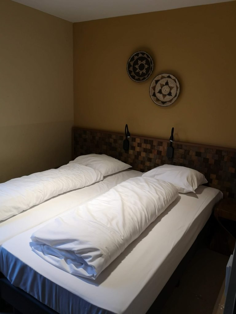 slaapkamer savanne lodge
